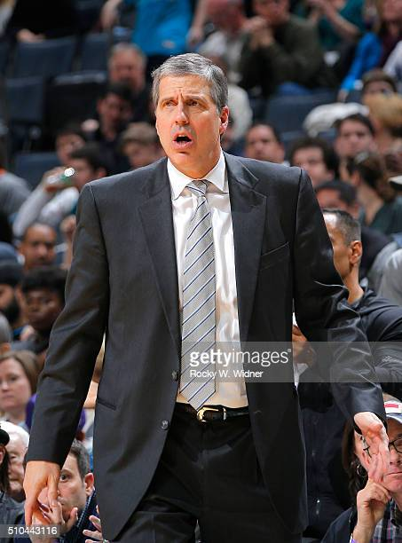 Head coach Randy Wittman of the Washington Wizards coaches against the Charlotte Hornets on February 6 2016 at Time Warner Cable Arena in Charlotte...