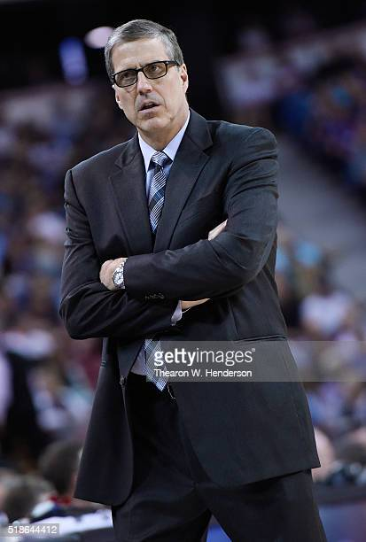 Head coach Randy Wittman of the Washington Wizards looks on against the Sacramento Kings Kings during an NBA basketball game at Sleep Train Arena on...