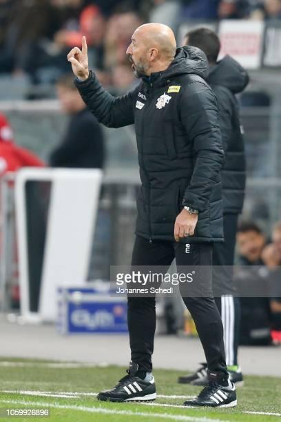 Head Coach Ranko Popovic of St.Poelten during the tipico Bundesliga match between Sturm Graz and SKN St. Poelten at Merkur Arena on November 10, 2018...