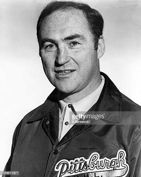 Head coach Red Kelly of the Pittsburgh Penguins poses for a portrait circa 1970 in Pittsburgh Pennsylvania