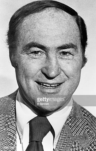 Head coach Red Kelly of the Toronto Maple Leafs poses for a portrait circa 1973 in Toronto Ontario Canada