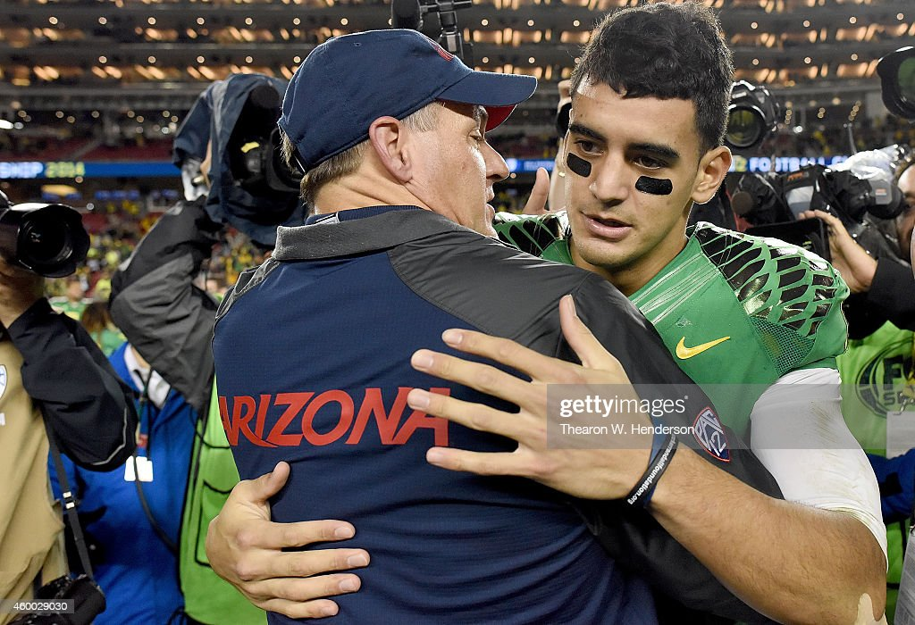 Pac 12 Championship - Arizona v Oregon