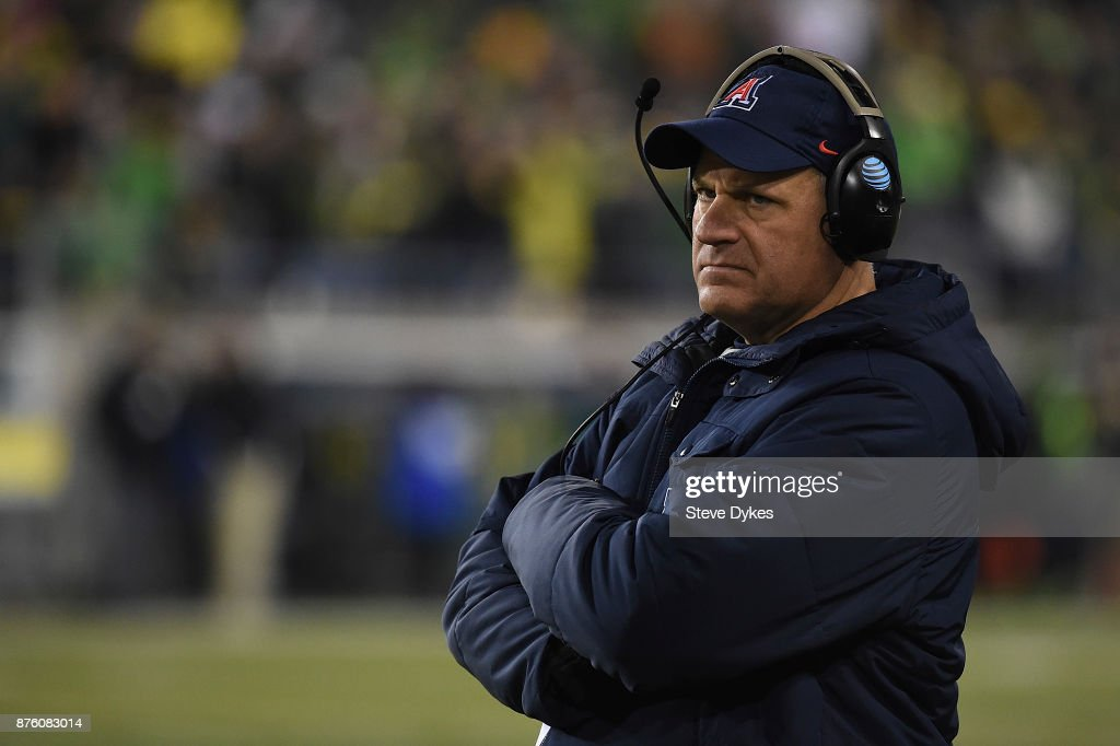 Arizona v Oregon : News Photo