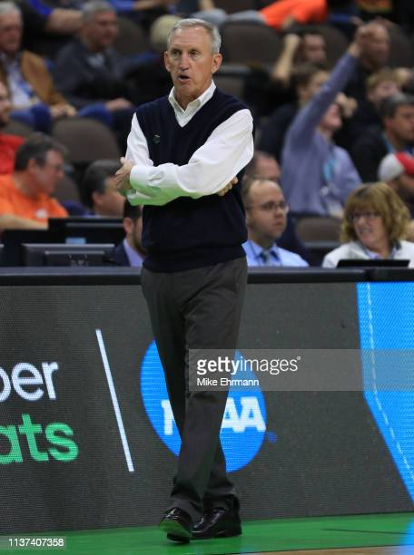 Head coach Rick Byrd of the Belmont Bruins during the first round of the 2019 NCAA Men's Basketball Tournament at VyStar Jacksonville Veterans...