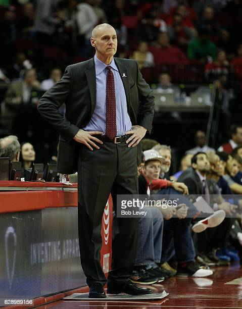Head coach Rick Carlisle of the Dallas Mavericks looks on against the Houston Rockets at Toyota Center on December 10 2016 in Houston Texas NOTE TO...