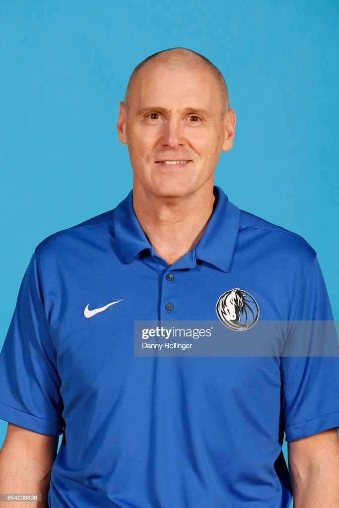 Head coach, Rick Carlisle poses for a photo during the Dallas Mavericks Media Day on September 25, 2017 at the American Airlines Center in Dallas, Texas.