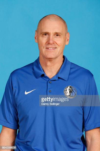 Head coach Rick Carlisle poses for a photo during the Dallas Mavericks Media Day on September 25 2017 at the American Airlines Center in Dallas Texas...
