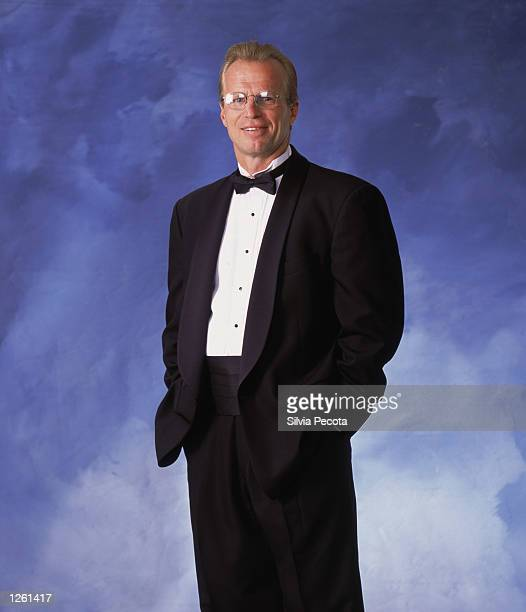 Head coach Robbie Ftorek of the Boston Bruins poses for a studio portrait during the NHL Awards in the John Bassett Theatre at the Metro Convention...