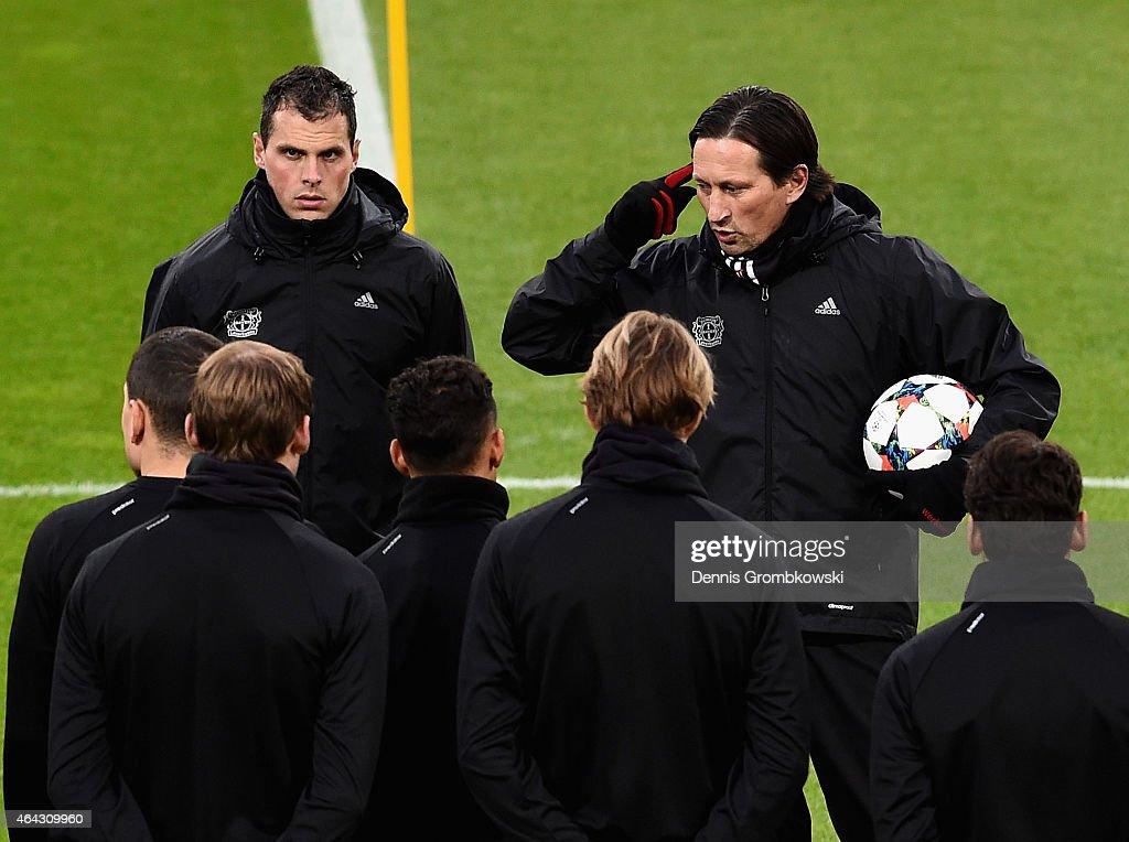 Bayer Leverkusen - Training & Press Conference