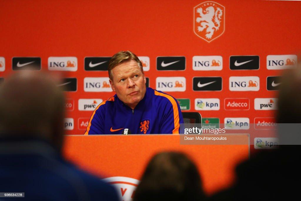 Netherlands Training session