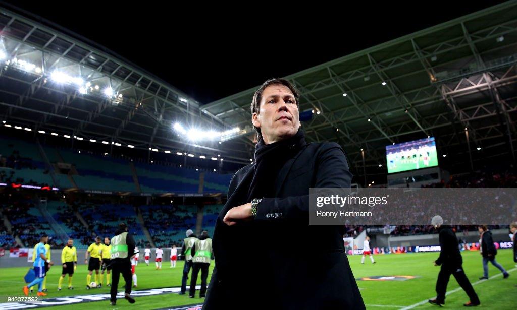 RB Leipzig v Olympique Marseille - UEFA Europa League Quarter Final Leg One