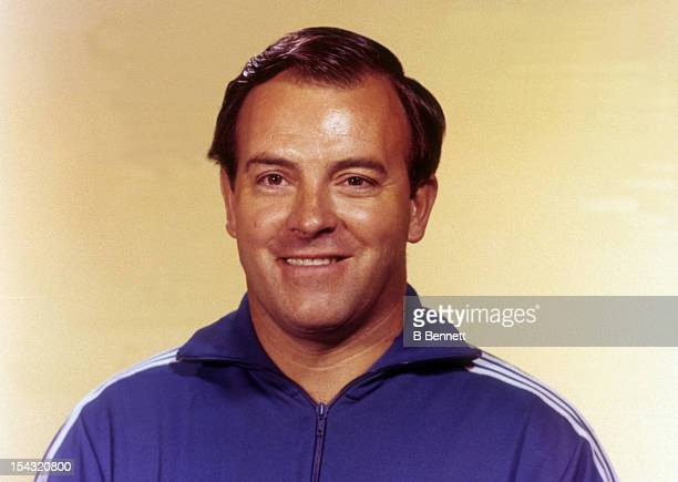 Head coach Scotty Bowman of the Montreal Canadiens poses for a portrait circa 1970 in Montreal Quebec Canada