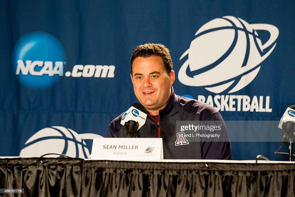 Arizona Wildcats Practice Before Texas Southern In 2nd Round : ニュース写真