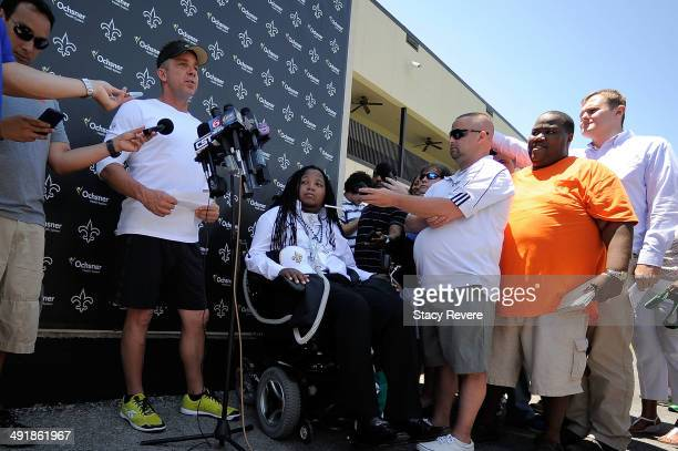 Head coach Sean Payton announces that former Tulane football player Devon Walker has been signed to a free agent contract following the New Orleans...