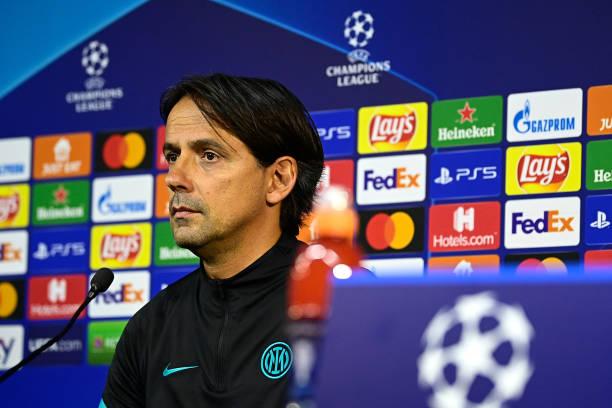 ITA: FC Internazionale Training Session & Press Conference