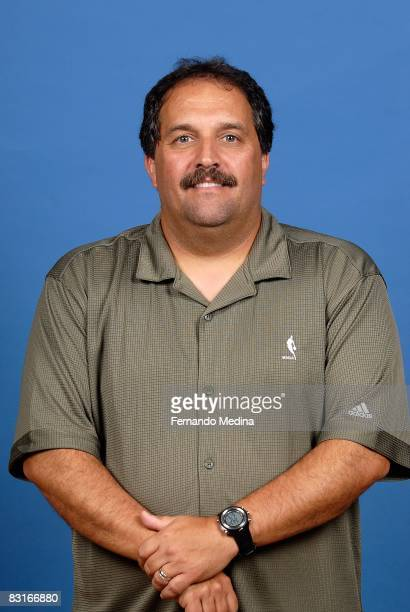 Head coach Stan Van Gundy of the Orlando Magic poses for a portrait on NBA Media Day on September 29 2008 at the RDV Sportsplex in Maitland Florida...
