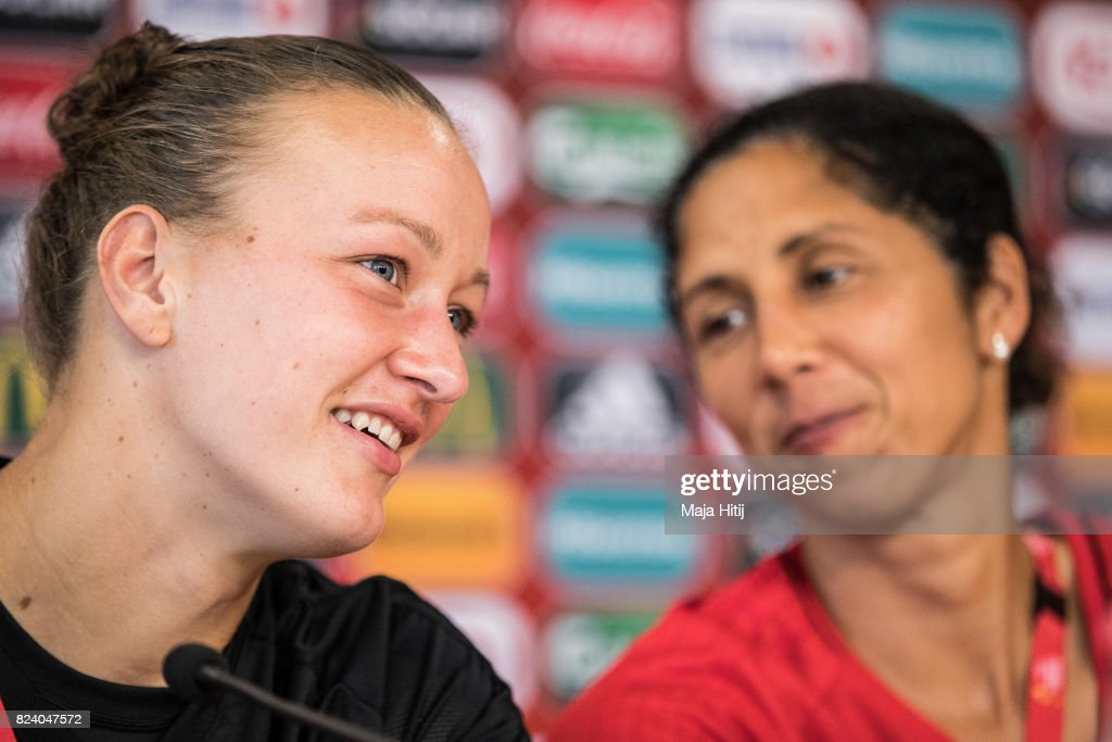 Germany Press Conference - UEFA Women's Euro 2017