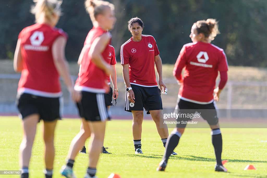 Germany Women's - Training & Press Conference