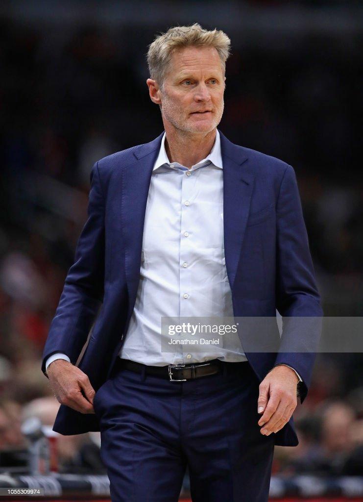 Golden State Warriors v Chicago Bulls : News Photo