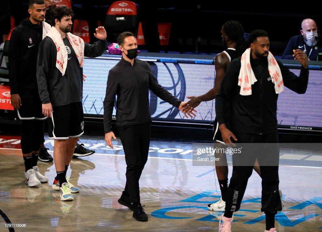 Washington Wizards v Brooklyn Nets : News Photo
