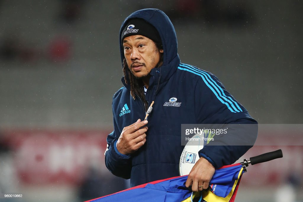 Super Rugby Rd 14 - Blues v Crusaders : News Photo