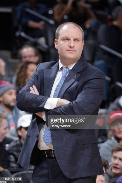 Head coach Taylor Jenkins of the Memphis Grizzlies looks on during the game against the Sacramento Kings on January 2 2020 at Golden 1 Center in...