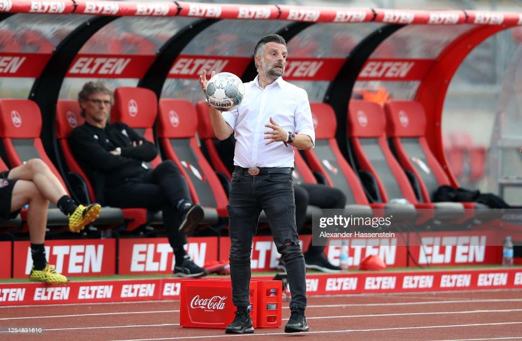 1. FC Nürnberg v FC Ingolstadt - 2. Bundesliga Playoff Leg One : News Photo