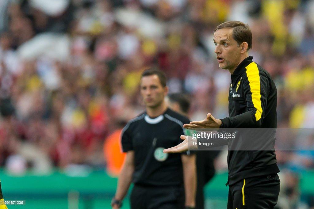 Eintracht Frankfurt v Borussia Dortmund - DFB Cup Final 2017 : Photo d'actualité