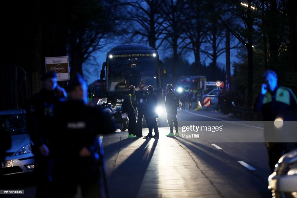 Borussia Dortmund Bus Explosion Injures Two