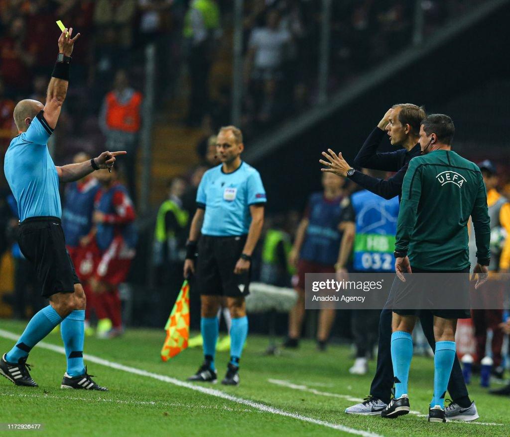 Galatasaray v Paris Saint-Germain: UEFA Champions League : News Photo