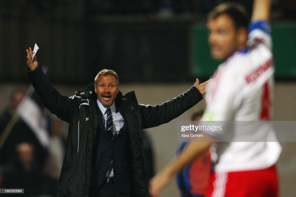Eintracht Trier v Hamburger SV - DFB Cup