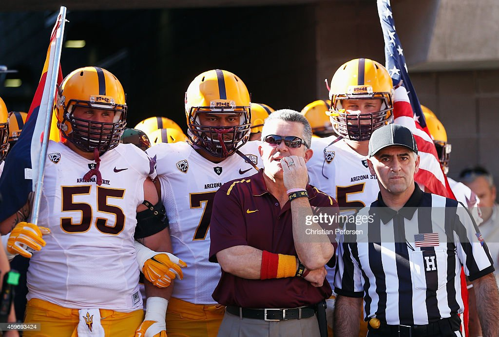 Arizona State v Arizona : News Photo
