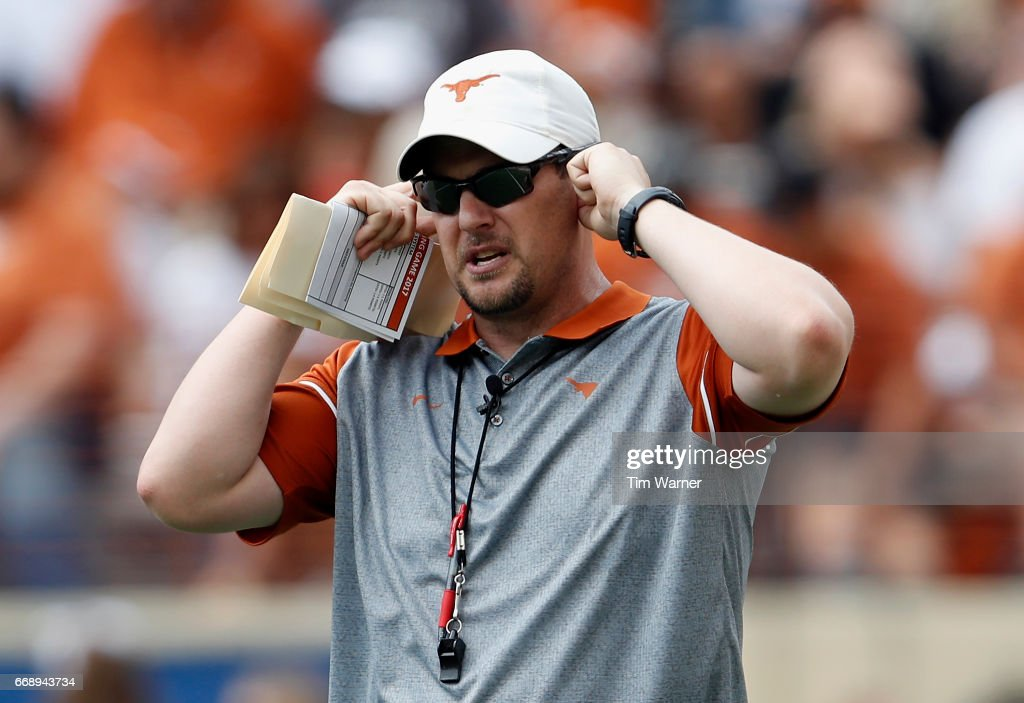 Texas Spring Game : News Photo