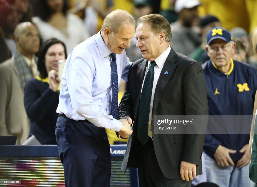 Michigan State v Michigan : News Photo