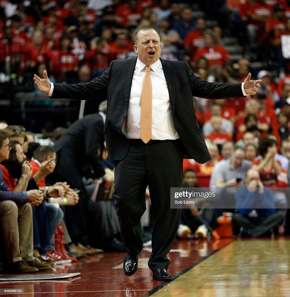 Minnesota Timberwolves v Houston Rockets - Game Two