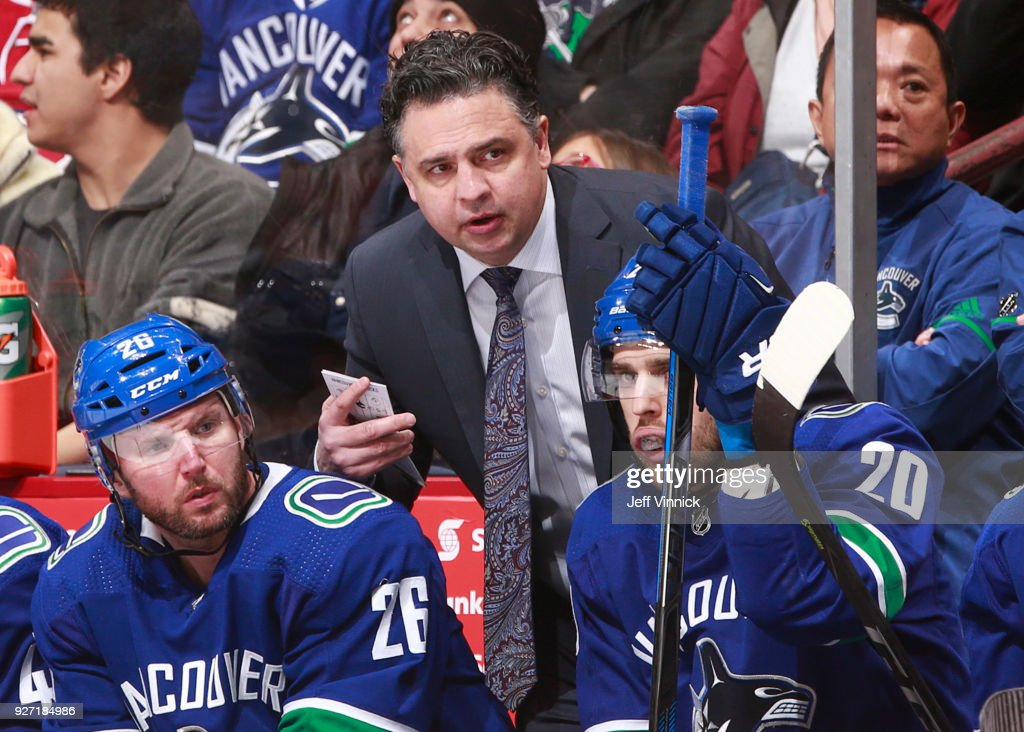 Boston Bruins v Vancouver Canucks