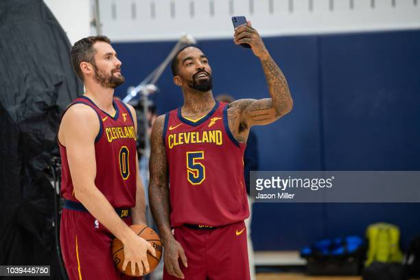Head coach Tyronn Lue of the Cleveland Cavaliers on Media Day at Cleveland Clinic Courts on September 24 2018 in Independence Ohio NOTE TO USER User...