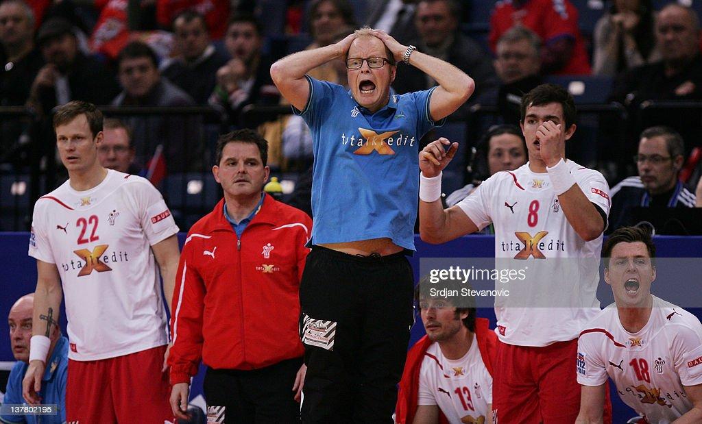 Denmark v Spain - Semifinal: Men's European Handball Championship 2012
