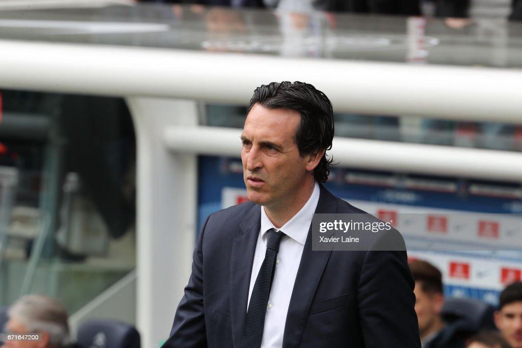 Paris Saint-Germain v Montpellier Herault SC - Ligue 1 : Photo d'actualité