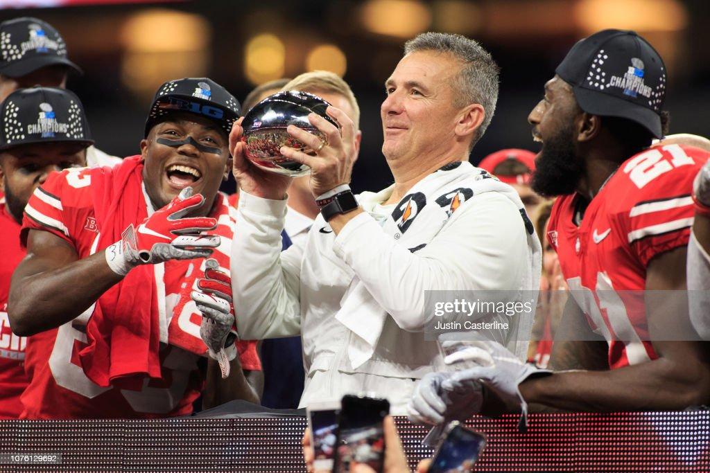 Big Ten Championship - Northwestern v Ohio State : News Photo