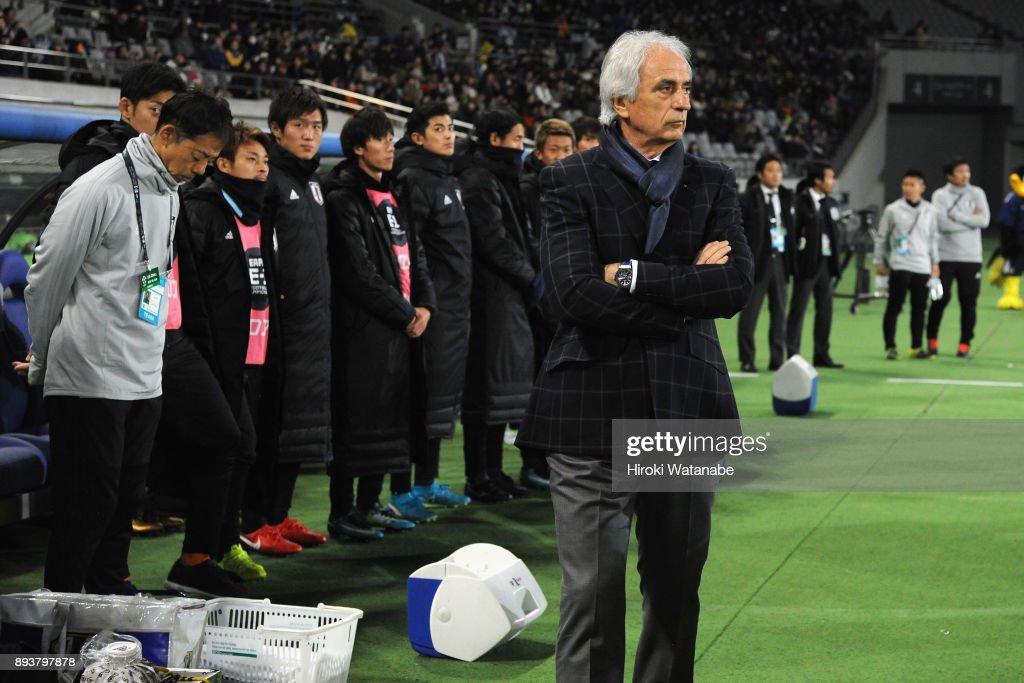 Japan v South Korea - EAFF E-1 Men's Football Championship : ニュース写真
