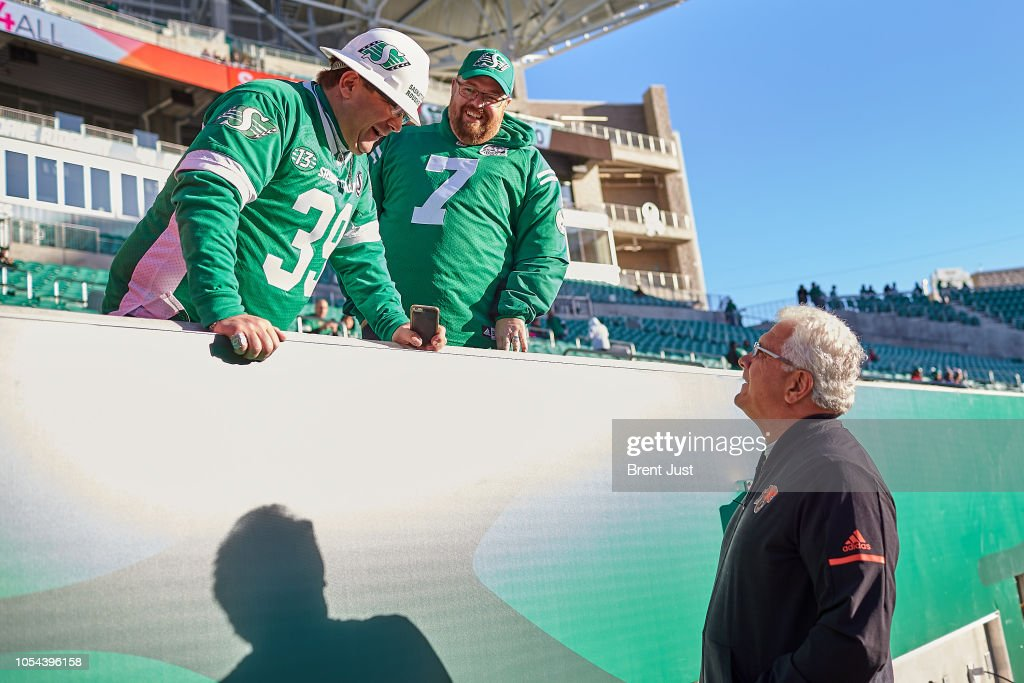 BC Lions v Saskatchewan Roughriders : News Photo