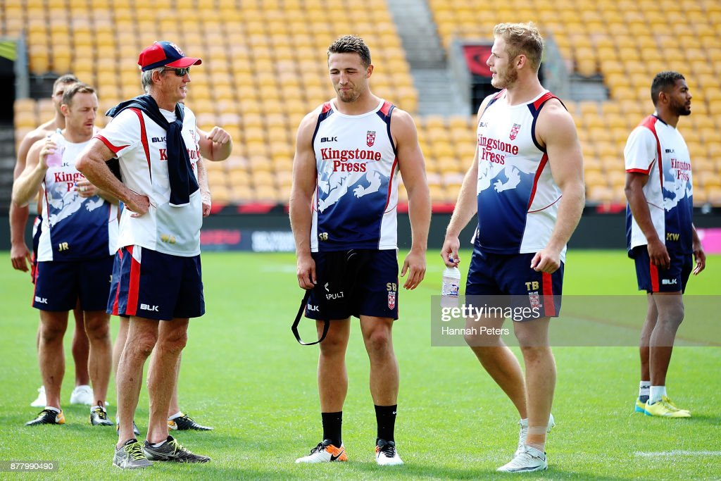 England Captain's Run : News Photo