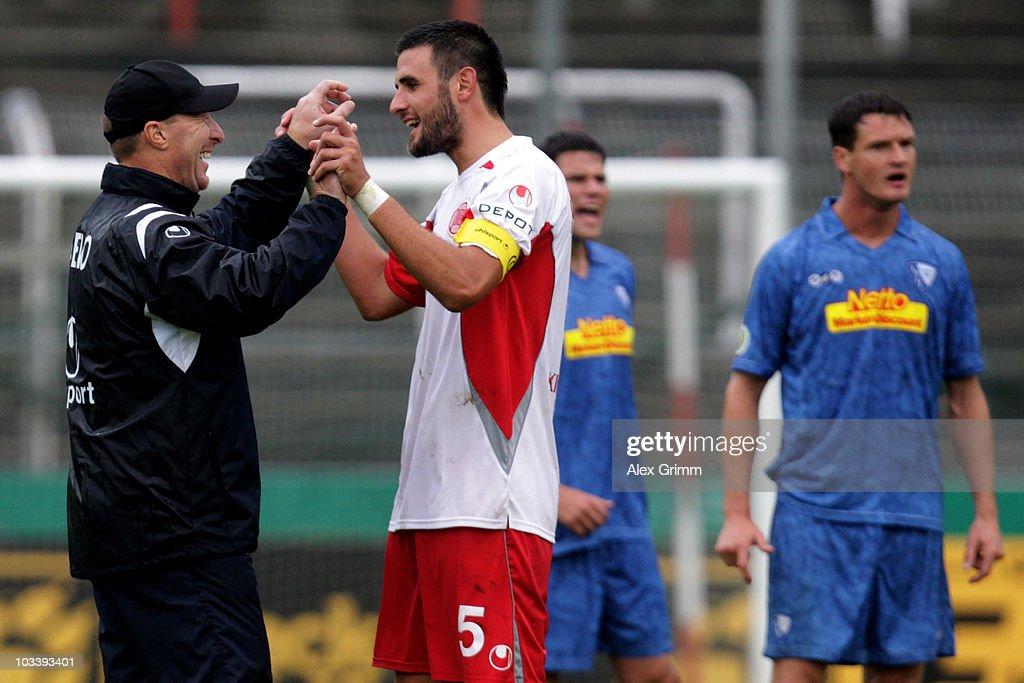 Kickers Offenbach v VfL Bochum - DFB Cup
