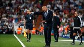 madrid spain head coach zinedine zidane