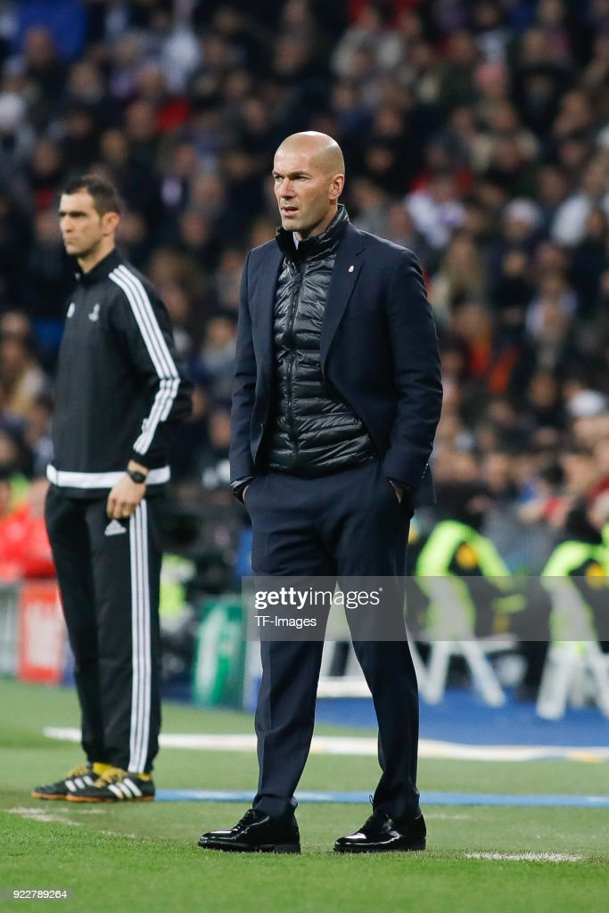 Real Madrid v Paris Saint-Germain - UEFA Champions League Round of 16: First Leg : News Photo