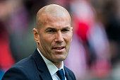 bilbao spain head coach zinedine zidane