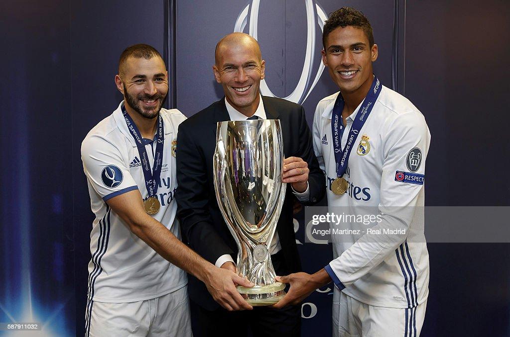 Real Madrid v Sevilla: UEFA Super Cup : News Photo