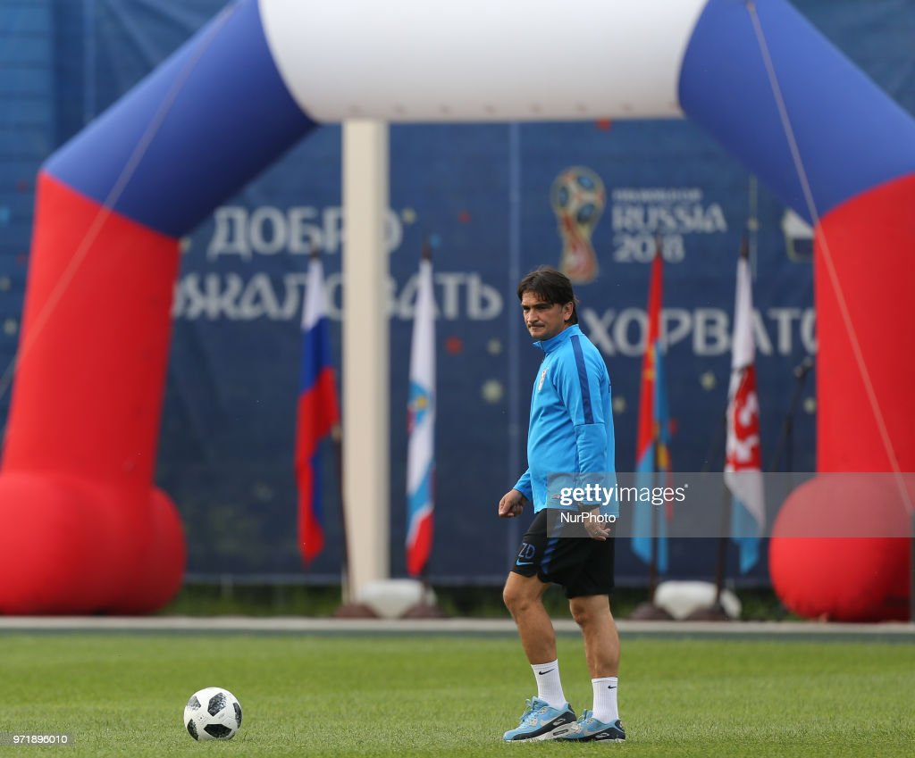 Croatia Training Session and Press Conference