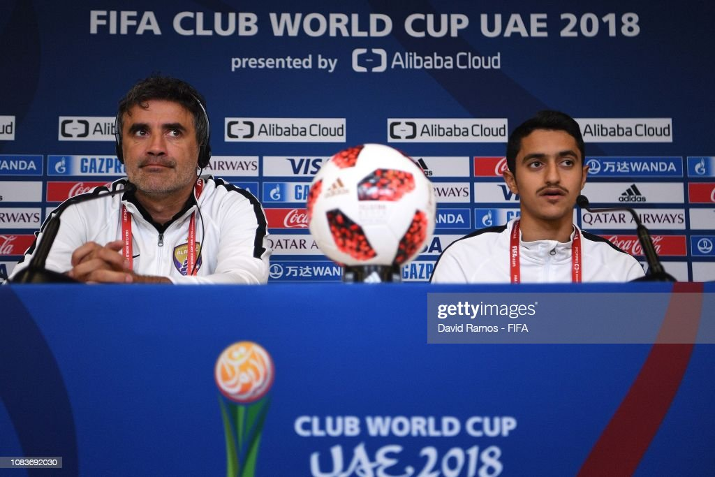 ARE: Al Ain FC Training Session and Press Conference - FIFA Club World Cup UAE 2018